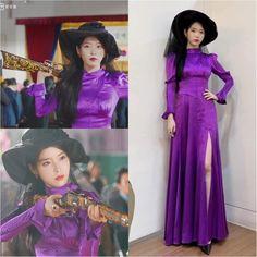 Kpop Fashion Outfits, Ulzzang Fashion, Fashion Dresses, Beautiful Heart Images, Luna Fashion, Violet Dresses, Purple Outfits, Fashion Design Sketches, Korea Fashion