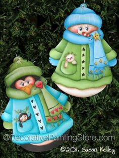 The Decorative Painting Store: Frosty Friends ePacket - Susan Kelley - PDF DOWNLOAD, Newly Added Painting Patterns / e-Patterns