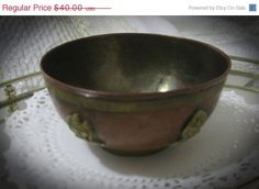 On Sale Vintage Copper And Brass by familycollectibles4U on Etsy
