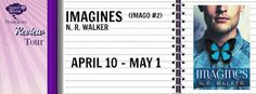 Imagines (Imago #2) by N.R. Walker - @NR_Walker, @SignalBoostPR, #M_M, #Romance, 5 out of 5 (exceptional) - April