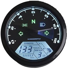 Best price on Reddragonfly -mph / kmh 199 km/h 12000 rpm LCD Digital Speedometer Tachometer Odometer for Honda Motorcycle Scooter Dirt Bike // See details here: http://bestmotorbikereviews.com/product/reddragonfly-mph-kmh-199-kmh-12000-rpm-lcd-digital-speedometer-tachometer-odometer-for-honda-motorcycle-scooter-dirt-bike/ // Truly a bargain for the inexpensive Reddragonfly -mph / kmh 199 km/h 12000 rpm LCD Digital Speedometer Tachometer Odometer for Honda Motorcycle Scooter Dirt Bike…