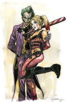 Arkham Asylum Joker & Harley Quinn Artist: Ryan Kelly