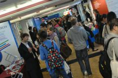 4 ways to make the most of a careers fair - To know more visit our site ~ http://careersblog.warwick.ac.uk/