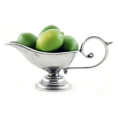 French Country Pewter French Country Gravy Boat