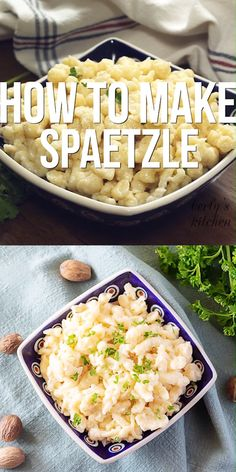 This homemade spaetzle recipe is based on a Grandmother's recipe that was handed down through two generations of children. This homemade spaetzle recipe is based on a Grandmother's recipe that was handed down through two generations of children. Austrian Recipes, Hungarian Recipes, German Recipes, Hungarian Dumplings Recipe, Bavarian Recipes, Ukrainian Recipes, Dutch Recipes, German Spaetzle, Pasta Recipes