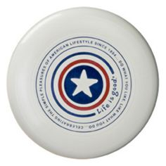 4th of July Party. Liberty Ultimate Disc. always need a frisbee to throw around.