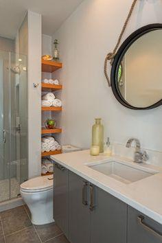 Ethridge | Interior | New Construction - contemporary - bathroom - austin - Greenbelt Construction