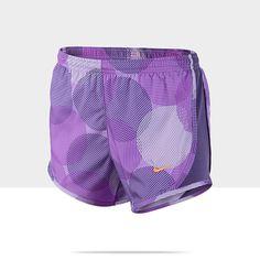 Nike 3.5 Tempo Graphic Girls Running Shorts