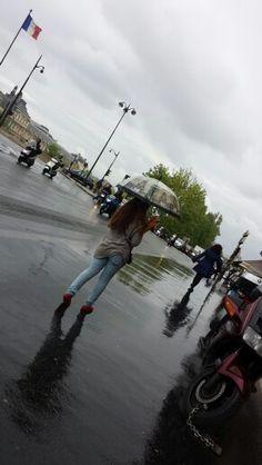 Rainy day at Paris ♡