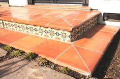 Best Mexican Tile Mexican Flooring Images On Pinterest - Clay coping tiles prices
