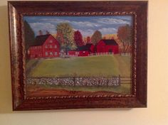 The Nathan Hale Homestead, painted by Debra Galarneau