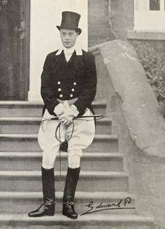 "Daily dose of Edward VIII. This photograph appeared in ""The Field"" November 27th 1920. The Prince of Wales, later to become King Edward VIII..."