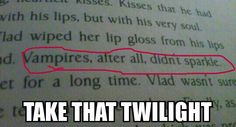 Take that twilight! The Vladimir Tod series is the best.