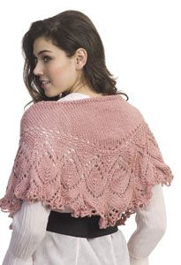 Caron International | Free Project | Shoulder Shawl