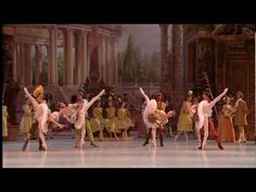 Aurelie Dupont, of The Paris Opera Ballet- Sleeping Beauty Ballet - Rose Adagio, by Tchaikovsky
