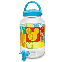 Summer Brights Mickey Mouse Drink Dispenser.  $19.50