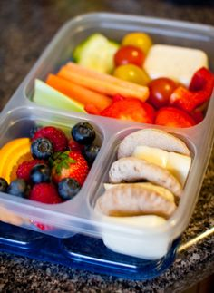 More packed lunch ideas.