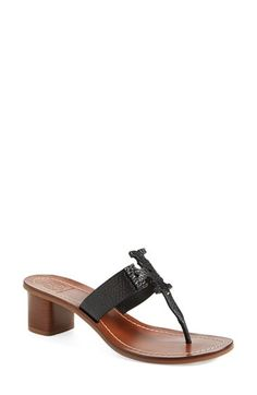 29ddcb296 Tory Burch  Moore  Leather Thong Sandal (Women) available at  Nordstrom  Slide