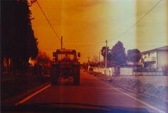 #Traktor #trattore #campagna #italia #countryside #dem #photo #lomography #lomo #smena #symbol #analog #analogica #pellicola #film