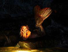 Twig the Fairy / Mermaid in her Volcano Water Cave by gbrummett, via Flickr