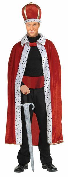 King's Robe + Hat £12.99 : Get It On Fancy Dress Superstore, Fancy Dress & Accessories For The Whole Family. http://www.getiton-fancydress.co.uk/adults/talesofoldengland/kingsrobehat#.Us8wQvu6-RM