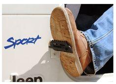 Jeep Foot Pegs fit CJ, YJ, TJ $34.99 via Amazon