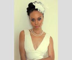 Noiva com cabelo afro