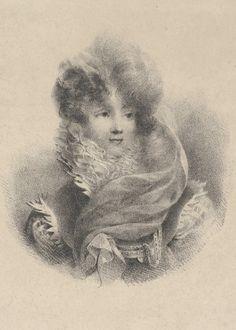 Portrait of Mademoiselle de Pavant  Artist:Jean-Baptiste Isabey (French, Nancy 1767–1855 Paris) Date:1825