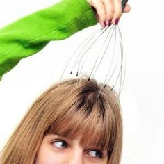 Masajeador Capilar de Varilla, ótimo para ativar a circulação Sanguinea que ajudar no crescimento dos cabelos