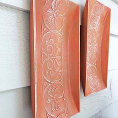 Stencil How To: Replicate Aged Terracotta Wall Art