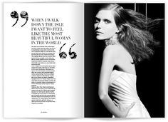 Beautiful Editorial Design By Julie Katrine Andersen | Oculoid | Art & Design Inspiration