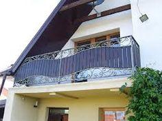 Znalezione obrazy dla zapytania balkony z drewna i metalu