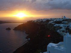Santorini Sunset, Greece.
