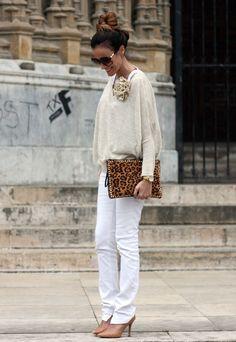 Zara  Jerseys and Blanco  Clutches