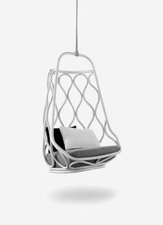 Hanging chair. #interior