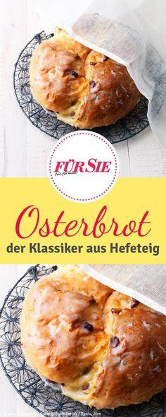Rezept für Osterbrot: Die perfekte Idee für Frühstück oder Brunch