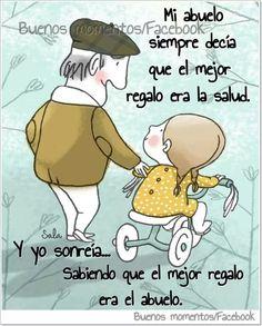 Mi abuelo era el mejor abuelo del MUNDO!!! Te amo abuelito Rodolfo por siempre y para siempre.