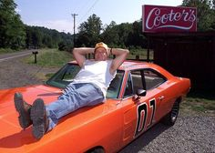 Looks like Cooter from Dukes of Hazzard helped bring Cantor down - Democratic Underground General Lee Car, Bo Duke, Ben Jones, James Best, Dukes Of Hazard, Catherine Bach, Southern Heritage, Daisy Dukes, Old Tv