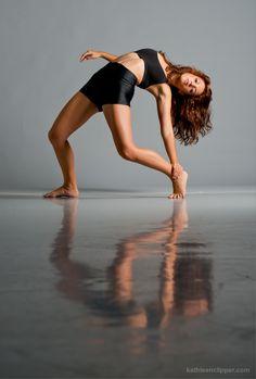 Modern Dance Portrait by Kathleen Clipper Photography