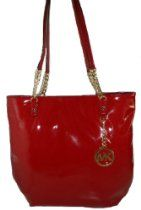 Michael Kors Jet Set NS Chain Tote Mandarin (red) Patent Leather From Michael Kors - Bags or Shoes Shop