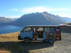 Camper Vanning In New Zealand