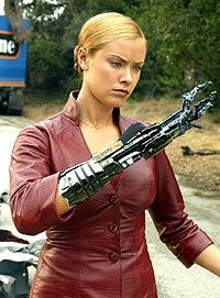 Kristanna Loken played the T-X Terminator in Terminator 3: Rise of the Machines.