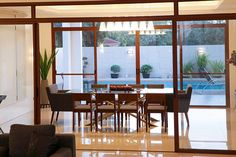another view of Pauleen's dining room