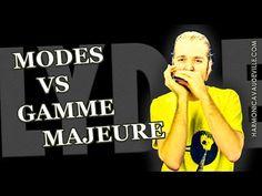 Modes vs gamme majeure Harmonica Vaudeville - YouTube
