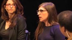 Mayim Bialik (Amy Farrah Fowler) explains a different view of Big Bang Theory. This women is so freaking smart it's sexy to me.