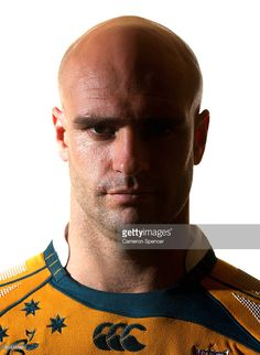 Sam Cordingley of the Wallabies poses for a portrait during an Australian Wallabies portrait session at the Manly Pacific Hotel on June 2008 in Sydney, Australia.