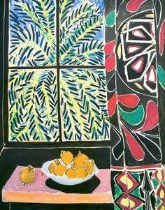 Intérieur au rideau égyptien (1948).