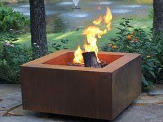 Modern Chiminea For Outdoor Ideas