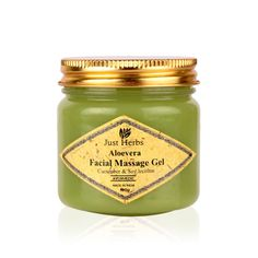 Buy Just Herbs Aloevera Facial Massage Gel Online in India @ UrbanTouch.com