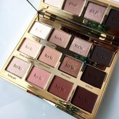 The @tartecosmetics #tartelette2 palette!